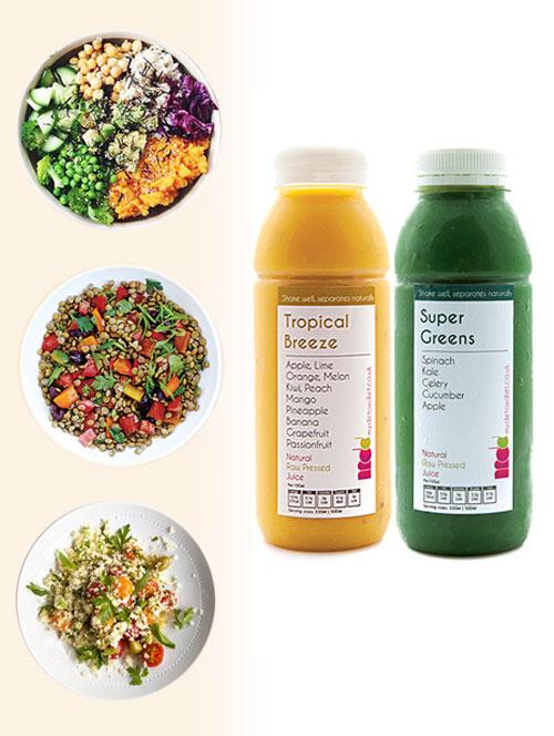 Vegan diet and detox plans