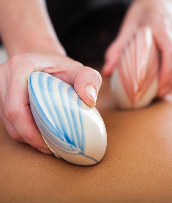 Lava Shells Relax Massage