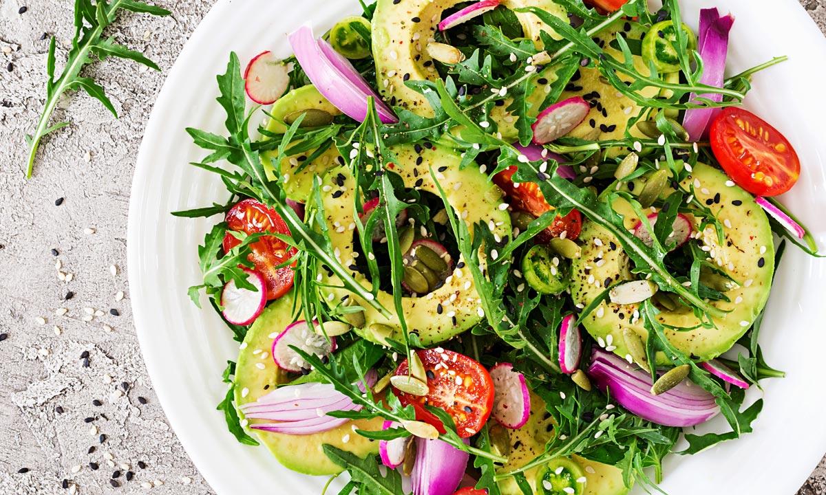 Summer Rucula Salad with Avocados & Radish